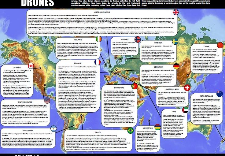 Defence IQ publishes global airport drone threat map ...
