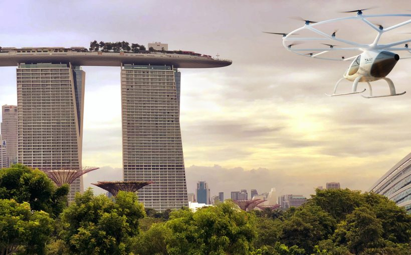 Urban air mobility takes off in 64 towns and cities worldwide