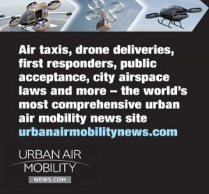 Ad for Urban Air Mobility News